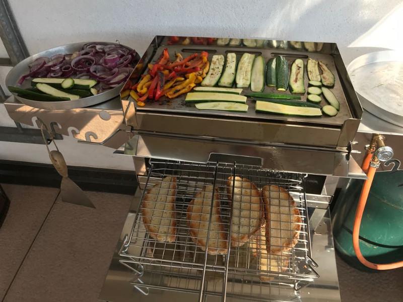 Barbecue Verdure Griglia